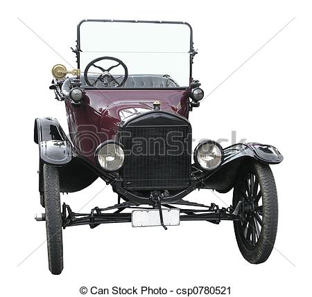 Model T Ford Clipart Model T Ford Isolated