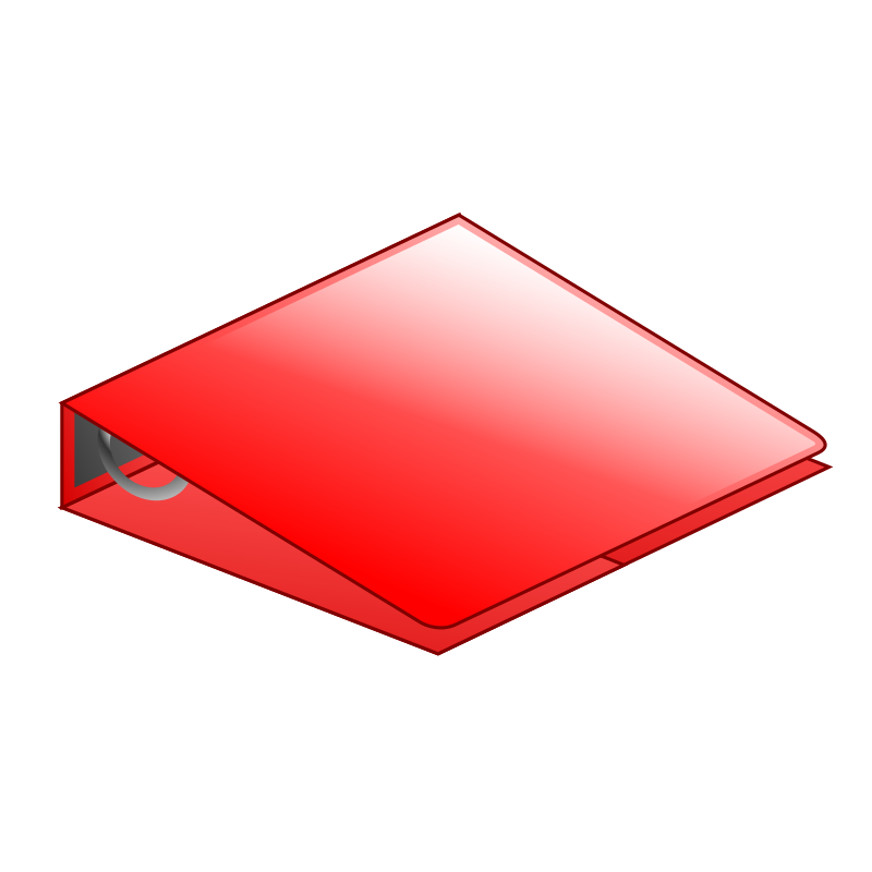 3 Ring Binder Clipart - Clipart Suggest
