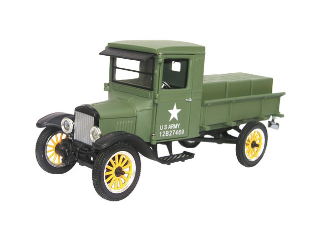 Signature 132 1926 Ford Model T Army Pickup Truck Diecast Car
