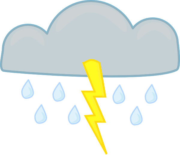 Clip Art Thunderstorm Clipart thunderstorm clipart kid storms clip art at clker com vector online royalty free