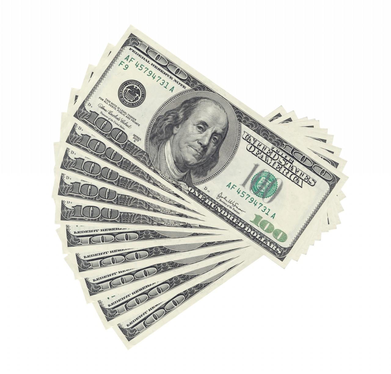 100-dollar Bills Clipart - Clipart Suggest