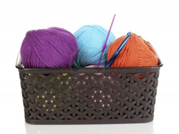 Basket Of Yarn Clipart   Viewing Gallery   Beautiful Crochet   Pinter