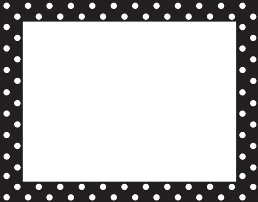 Black And White Polka Dot Border Car Pictures