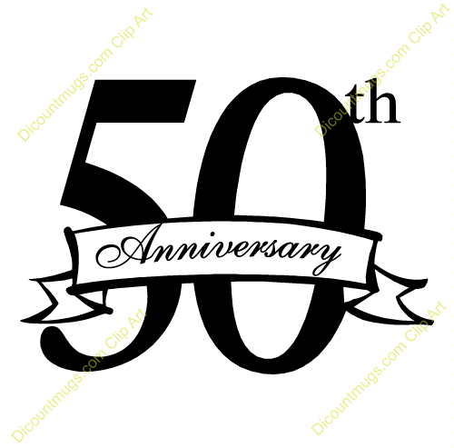Celebrating Fifty Fifty Years 50 Years Anniversary Celebration