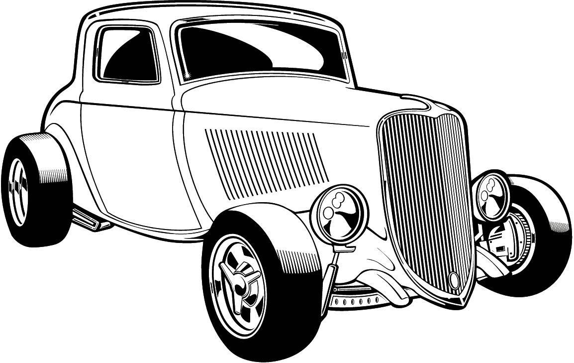 Classic Car Clipart Clipart By Category Auto