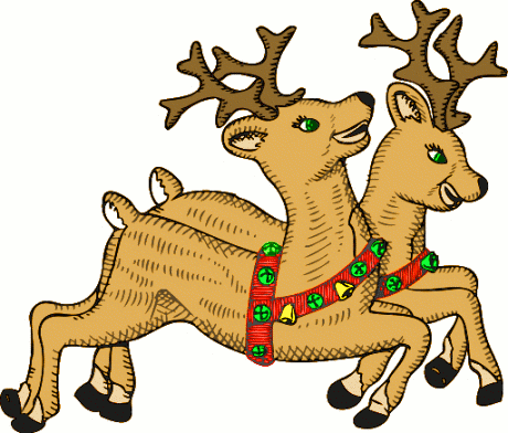 Do It 101 Free Clip Art Christmas Reindeer