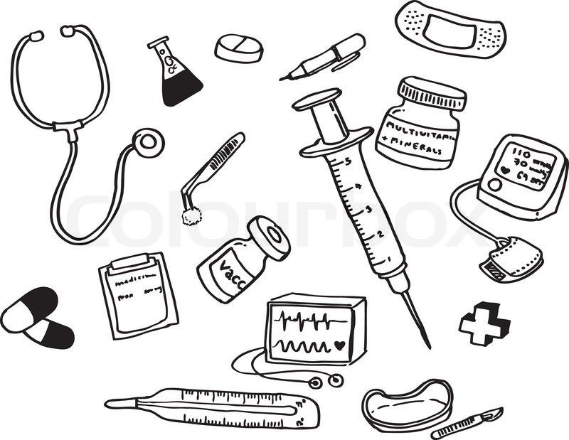 Doctor Tools Vector Of Doctor S Tools