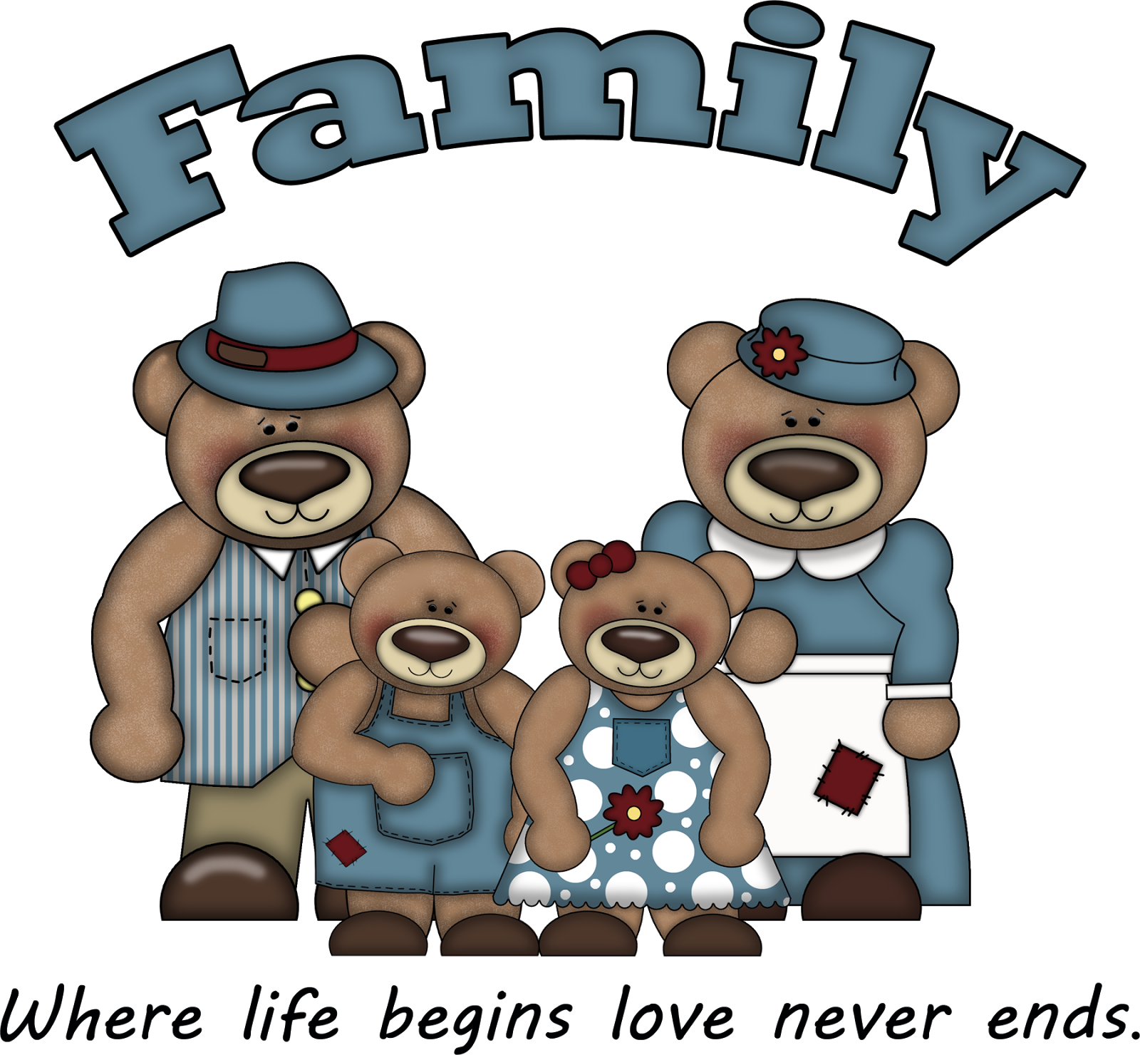 Family Clip Art Freebie 104 Ge Png
