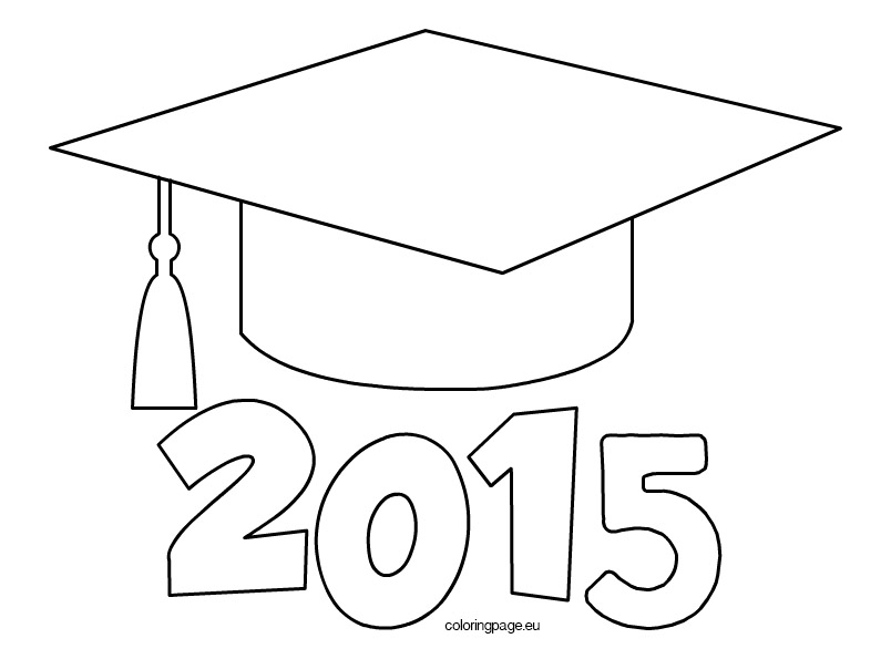 Graduation Gown Colouring Pages  Page 2