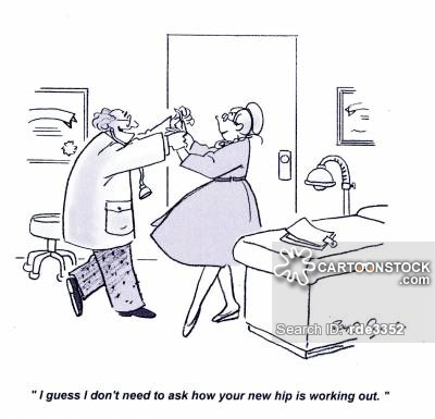 Hip Replacement Cartoons And Comics   Funny Pictures From Cartoonstock