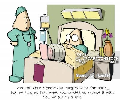 Knee Surgery Funny Knee Replacement Surgery