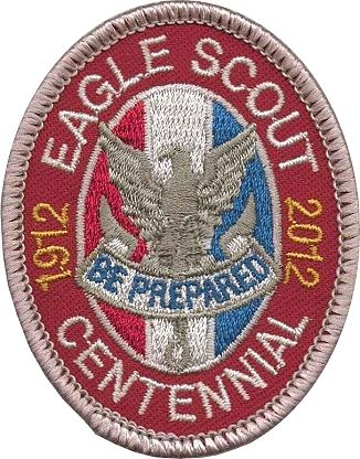 Large Eagle Scout Badge And Medal Image For Presentations