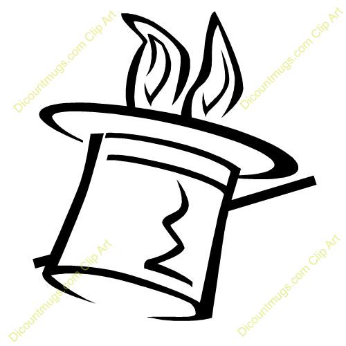 Magic Top Hat Clipart - Clipart Suggest