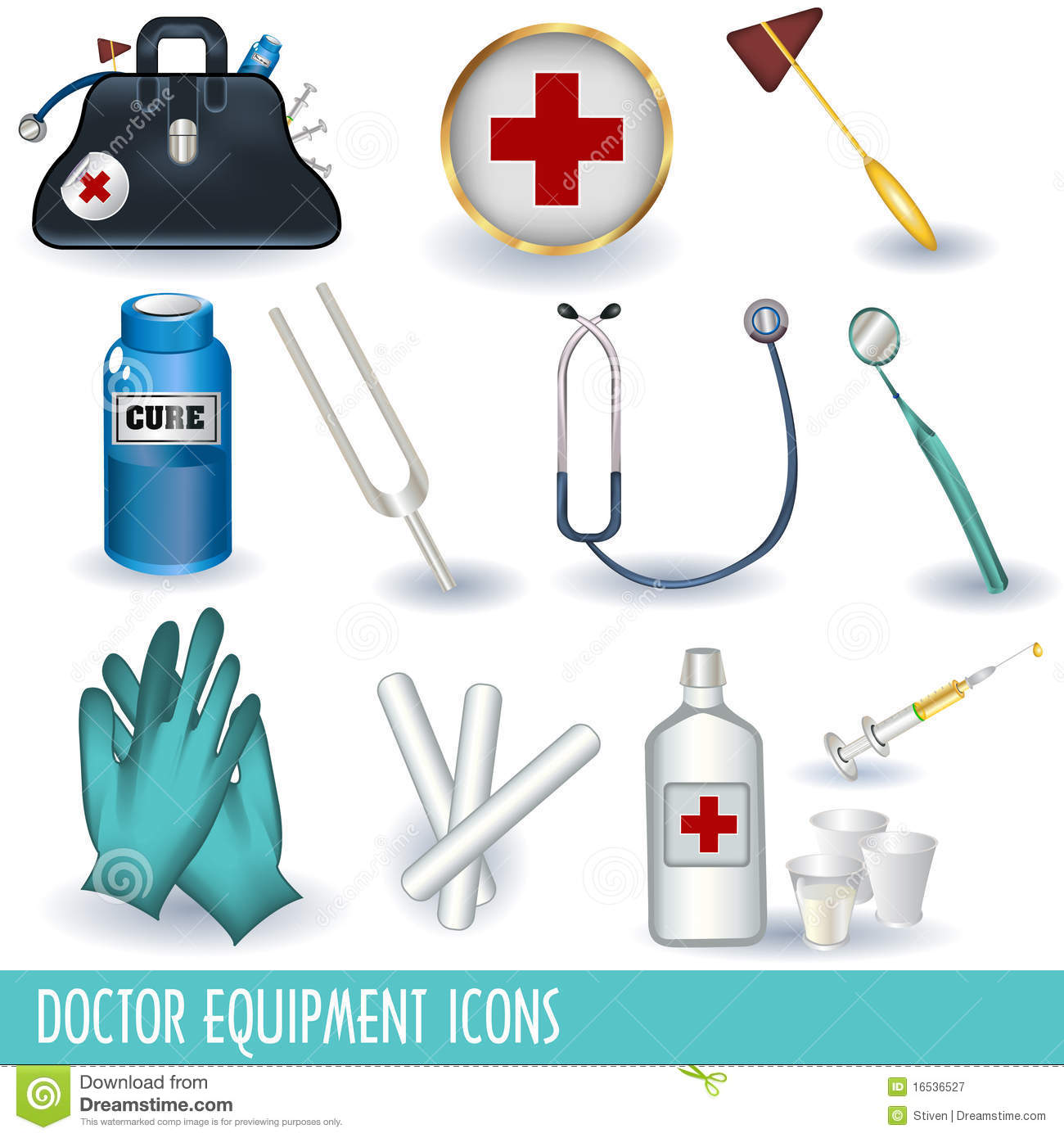 Nurse Tools And Equipment Clipart Doctor Equipment Icons