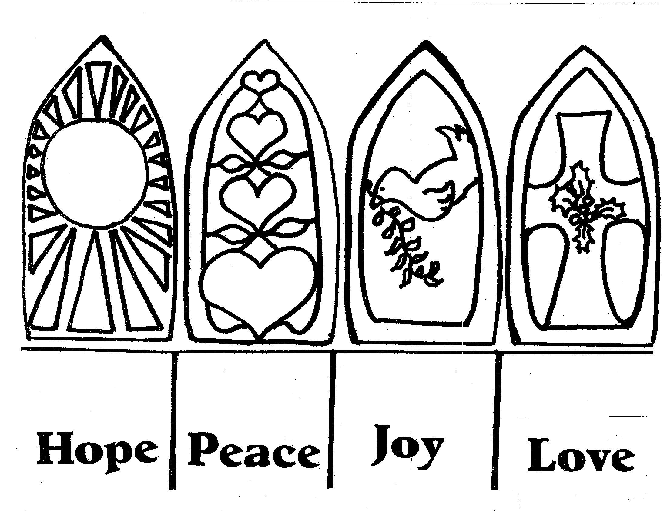 Advent Candles Black And White Clipart Clipart Suggest Advent Colouring Pages