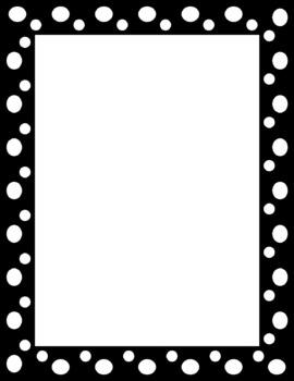 Clip Art Polka Dot Clip Art polka dot frame border clipart kid page clip art