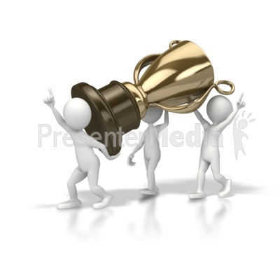 Team Trophy   Sports And Recreation   Great Clipart For Presentations