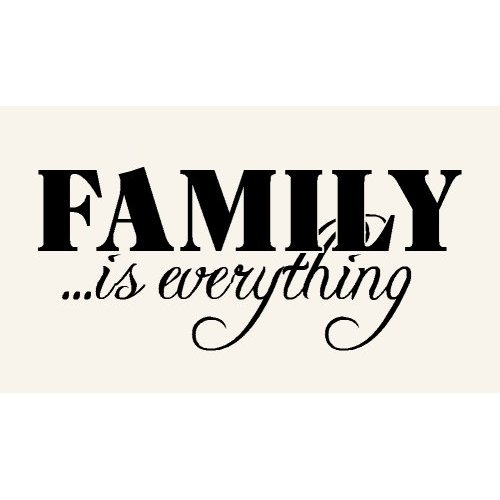 The Word Family Family Word Im