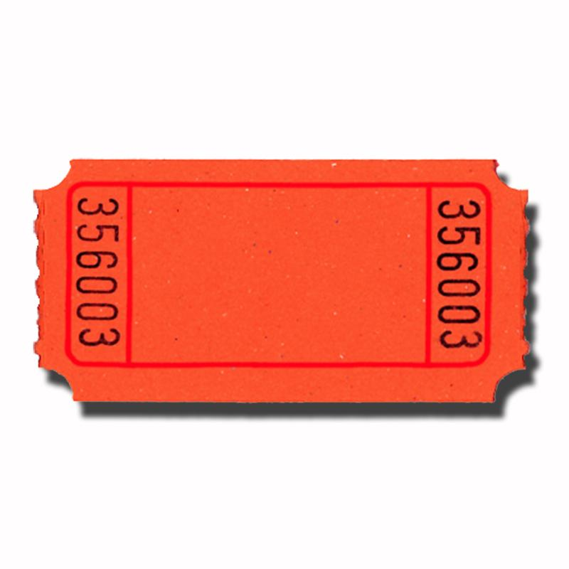 Blank Carnival Style Roll Tickets Doolin S Party Supplies