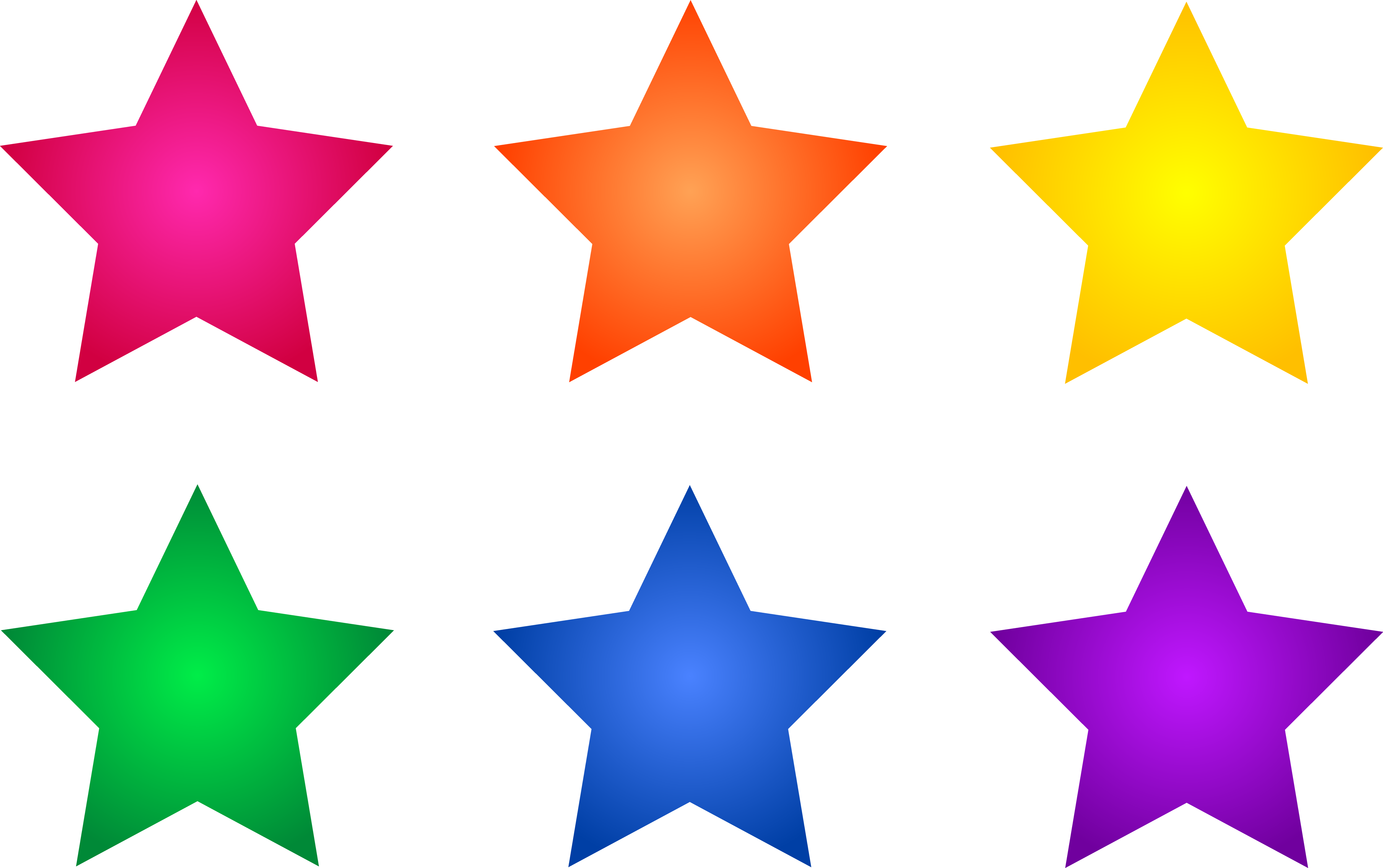 Clipart Stars Stars Clipart Set 1 Png