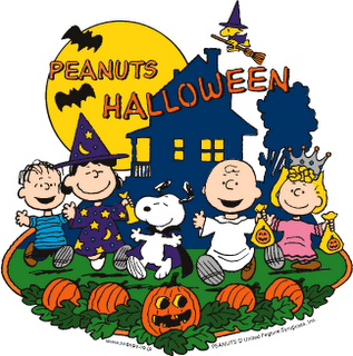 Peanuts gang halloween clipart clipart suggest - Snoopy halloween images ...