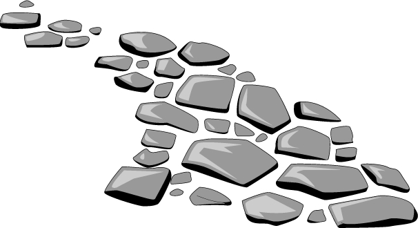 Stone Pathway Clipart Stone Path
