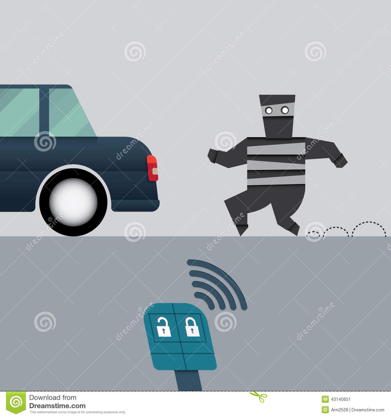 Stolen Car Clipart