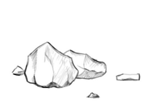 Ultimate Rock And Stone   Drawing Techniques