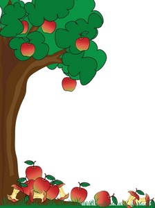 Apple Tree Clip Art Images Apple Tree Stock Photos   Clipart Apple