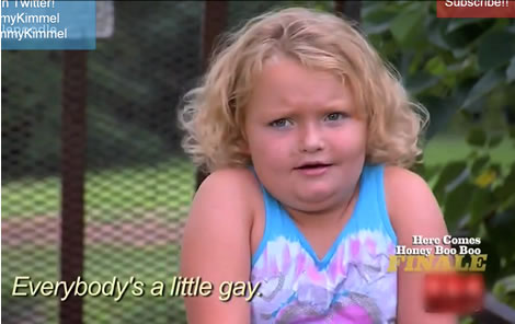 Auto Tuned Honey Boo Boo   Everyone S A Little Gay