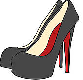Clip Art Heels Clipart pink high heels clipart kid available to search from over 15 vector eps publishers