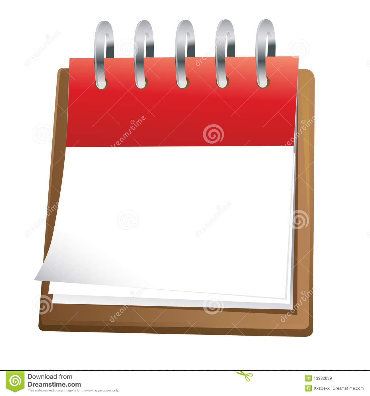 Blank Calendar Day Icon : Blank calendar clipart suggest