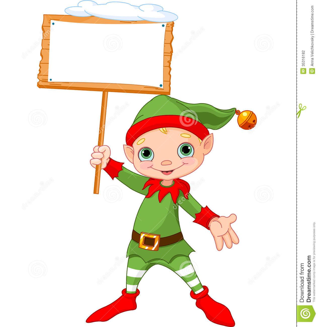Cute Elf Clipart - Clipart Kid