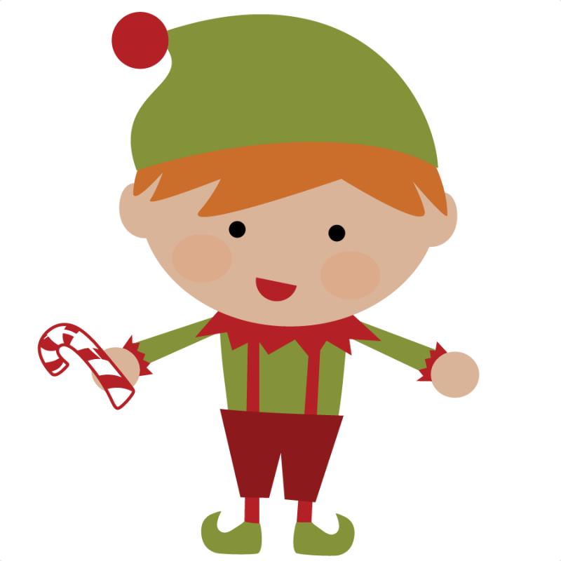 Cute Christmas Elves Clip Art Car Pictures PmBw36 Clipart on Cute Preschool Clip Art