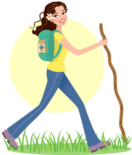 girl hiking clipart clipart suggest clip art hiking boot print clip art hiking trails