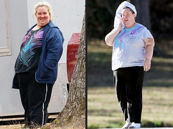 Here Comes Honey Boo Boo   Mama June S 100 Lbs  Weight Loss Picture