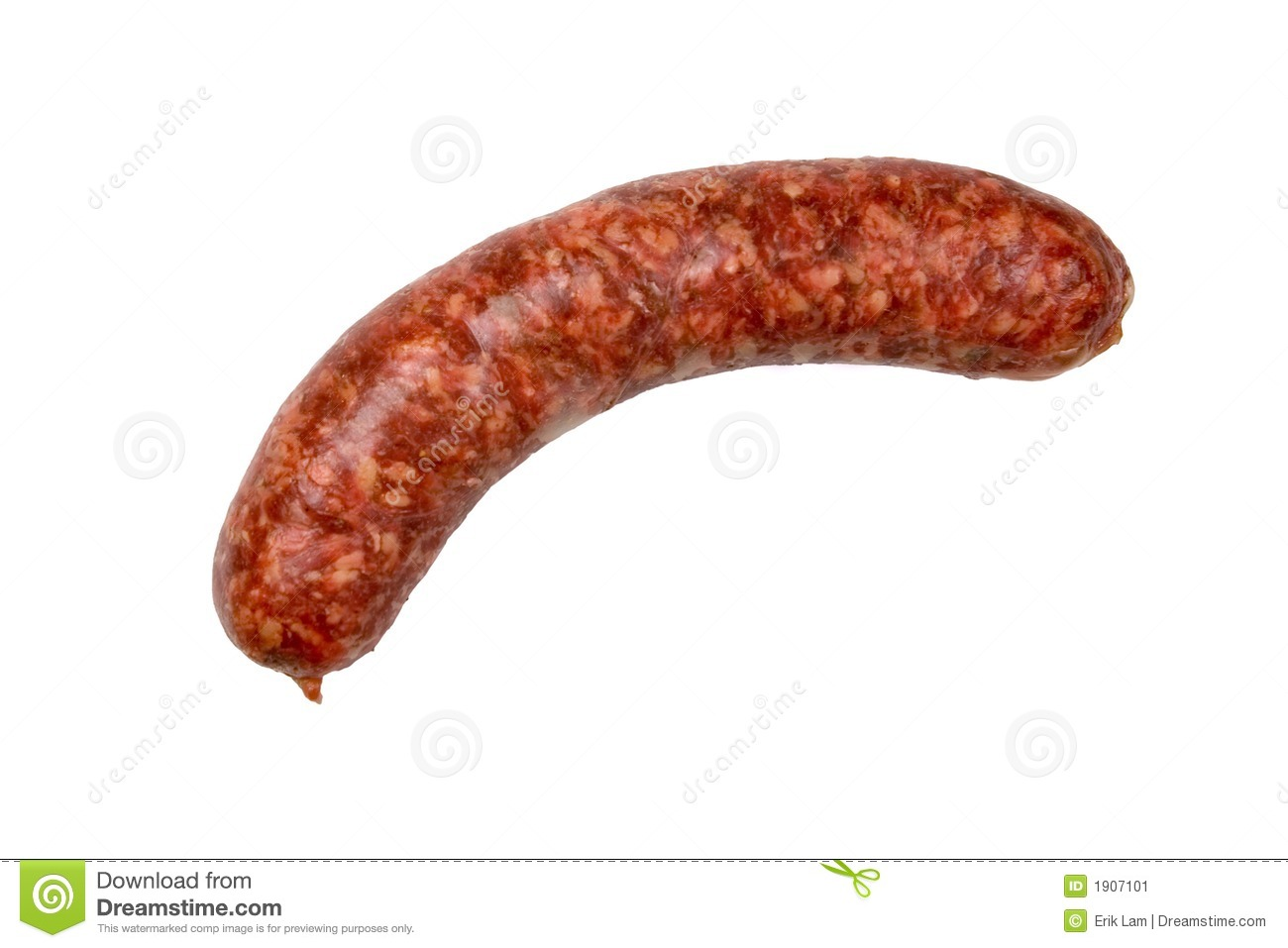 Sausage Isolated On A ...