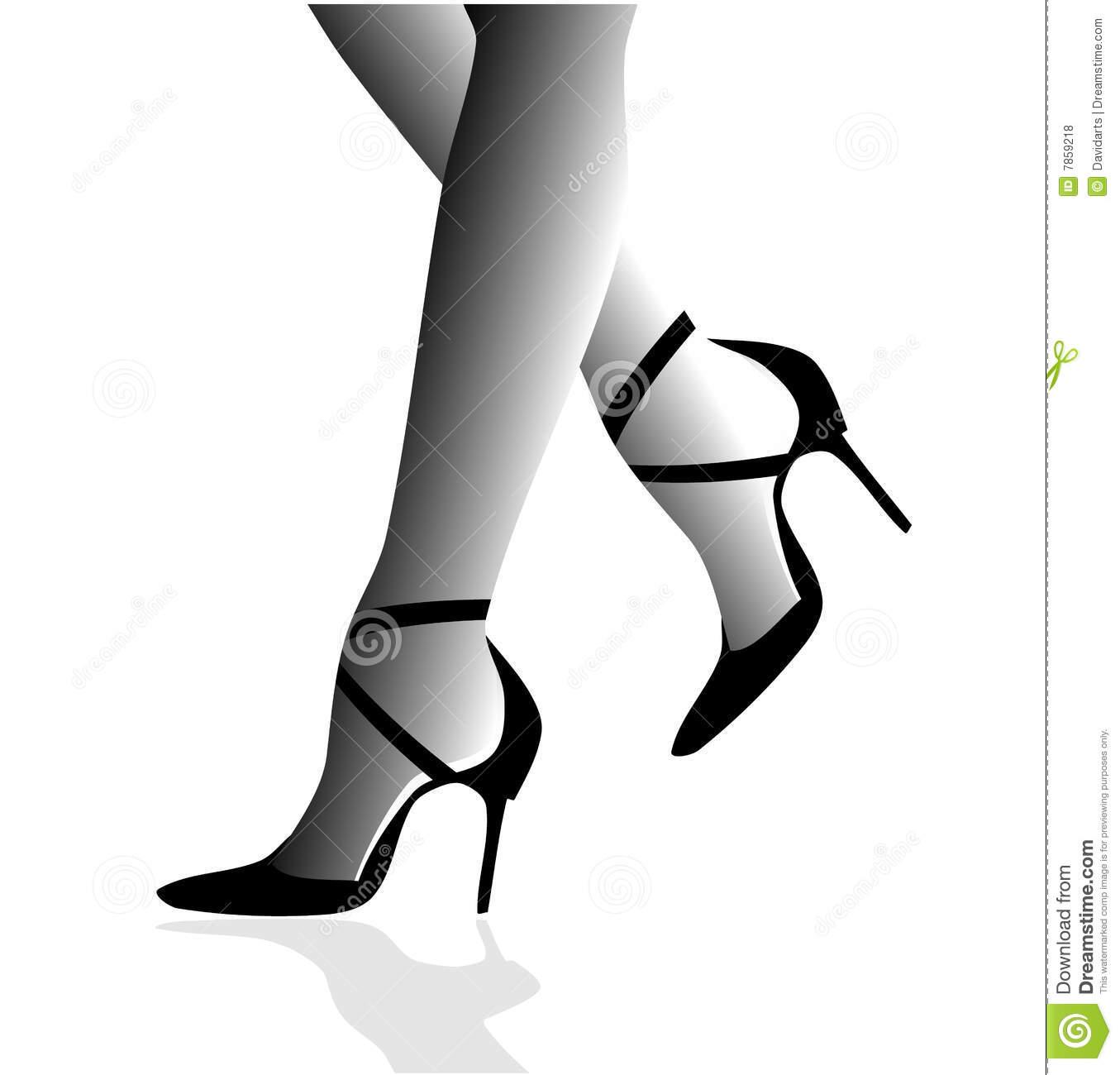 Stiletto Heels Woman