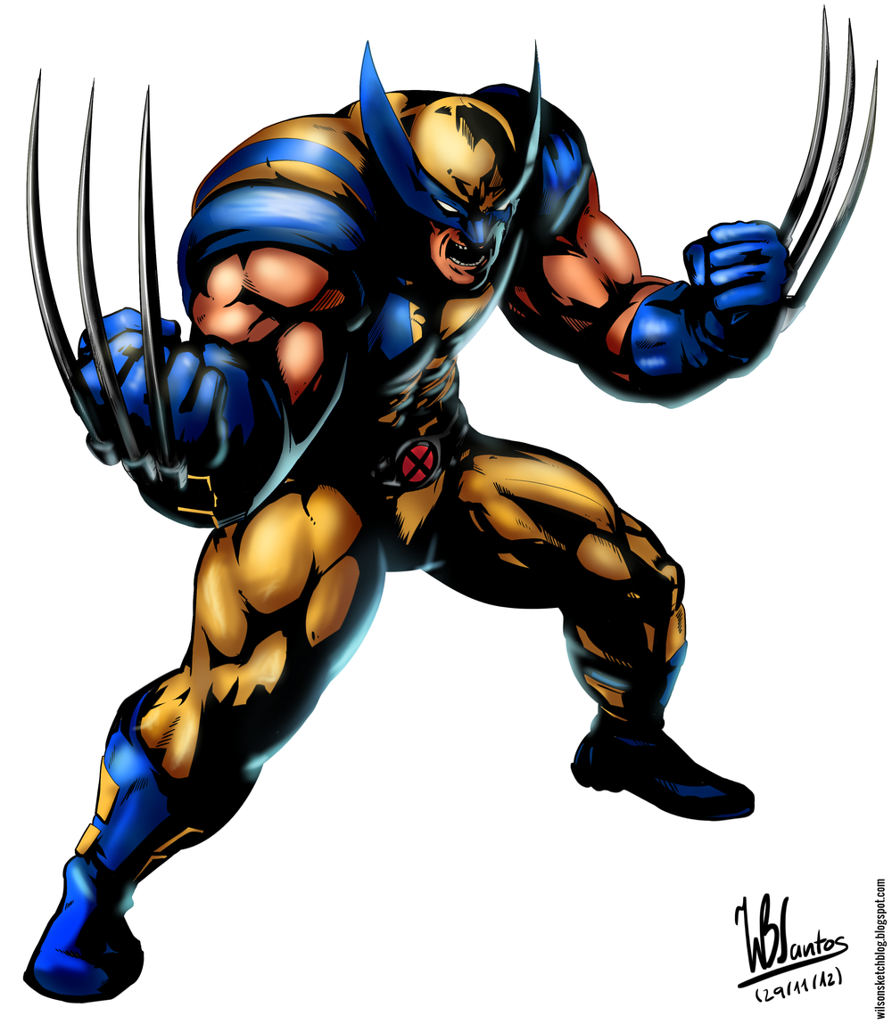 men Wolverine Clipart - Clipart Kid