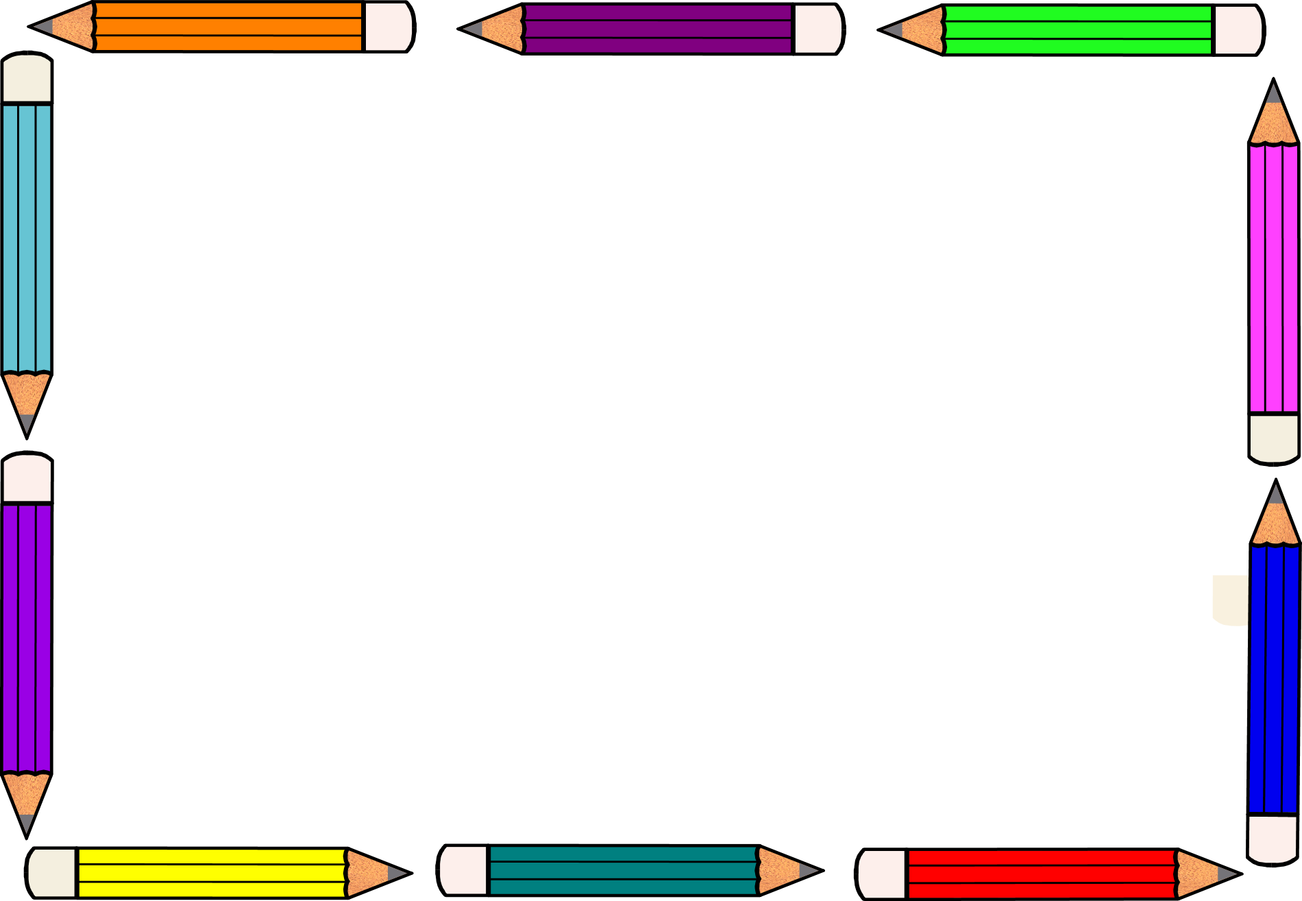 Handwriting Border Clipart - Clipart Suggest