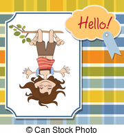 Amused Clip Art Vector Graphics  8118 Amused Eps Clipart Vector And