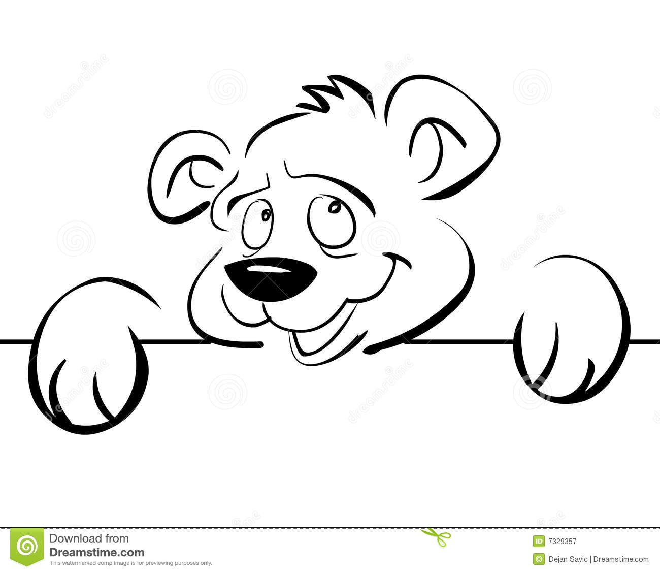 An Amused Bear Royalty Free Stock Photography   Image  7329357