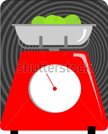 Browse   Food   Drinks   Illustration Of A Kitchen Weighing Machine