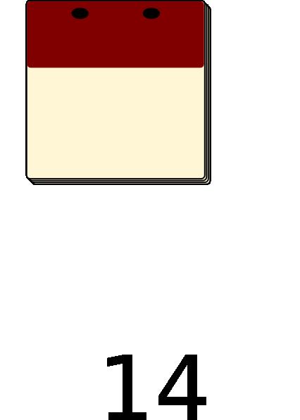 Blank Calendar Svg : Blank calendar clipart suggest