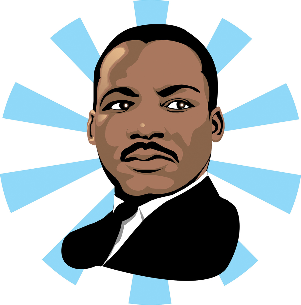 Cartoon Martin Luther King   Clipart Best
