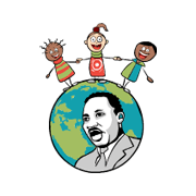 Clip Art Martin Luther King Day Globe Kids Martin Luther King