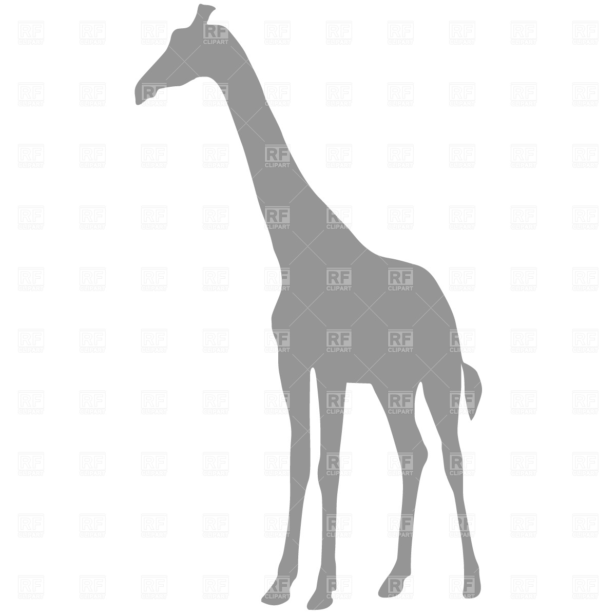 Clipart Catalog Silhouettes Outlines Giraffe Silhouette Download