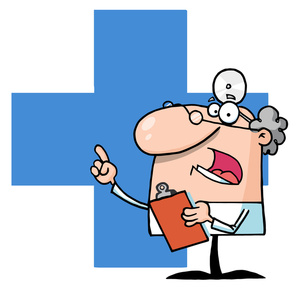 Funny Doctor Cartoon Clipart - Clipart Kid