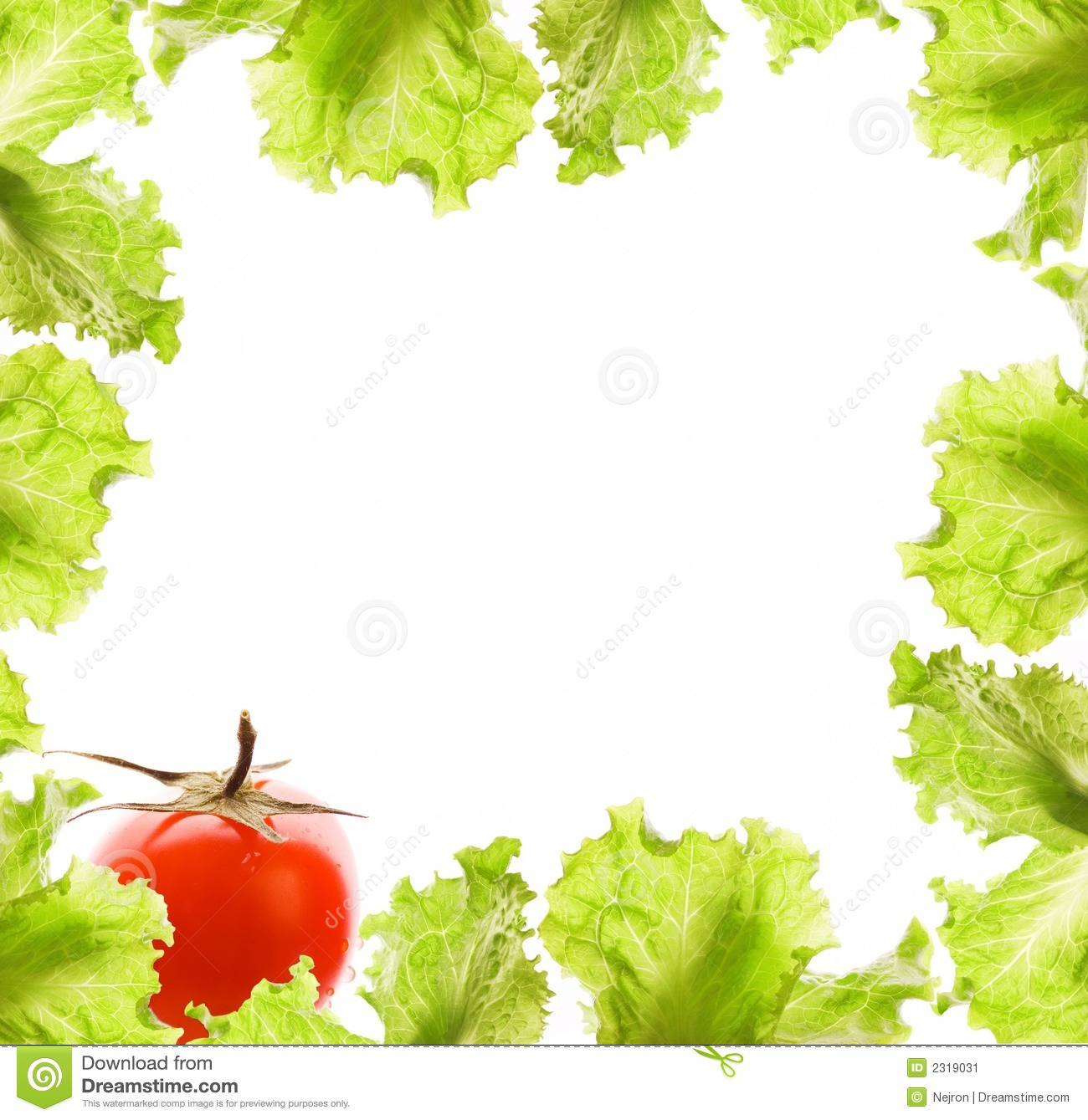 Salads Border Clipart - Clipart Kid