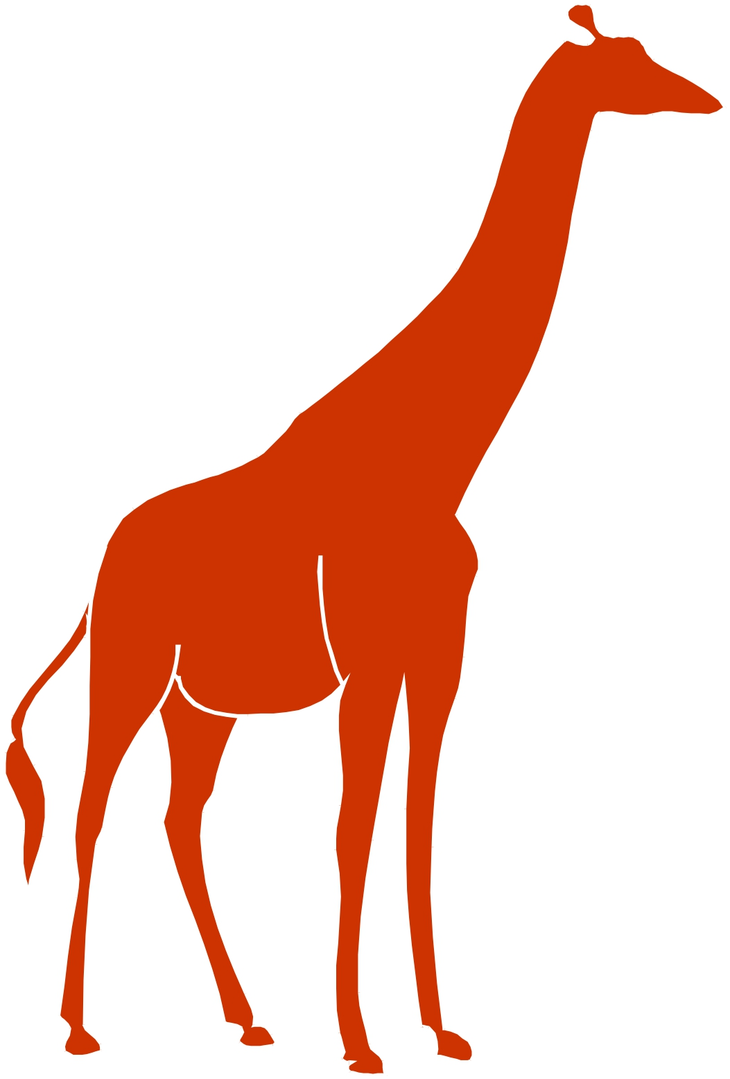 Giraffe Silhouette Clip Art   Clipart Panda   Free Clipart Images
